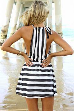 #street #style black and white stripes @wachabuy