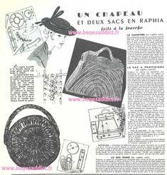 Crochet Vintage, Vintage Diy, Vintage Knitting, Vintage Bags, Crochet Purse Patterns, Crochet Purses, Vintage Sewing Patterns, Knitting Patterns, Journal Vintage