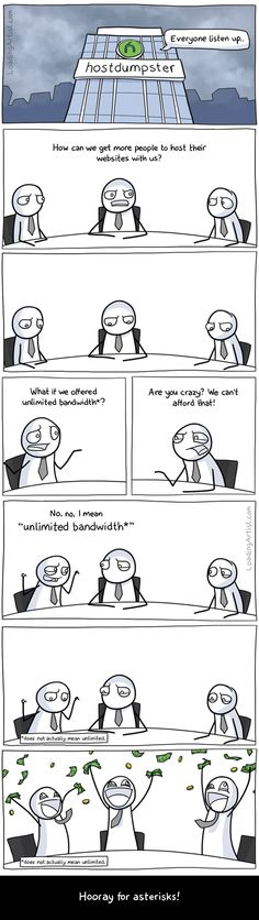 """""""Unlimited Bandwidth*"""" [Comic] 