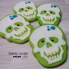 Funky Cookie Studio Skulls