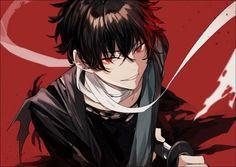 Boys Anime, Dark Anime Guys, Cool Anime Guys, Handsome Anime Guys, Hot Anime Boy, Manga Boy, Art Anime, Anime Kunst, Manga Anime