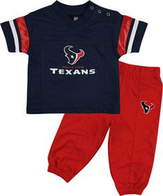 Houston Texans Infant Short Sleeve Football Jersey & Pant Set $31.99