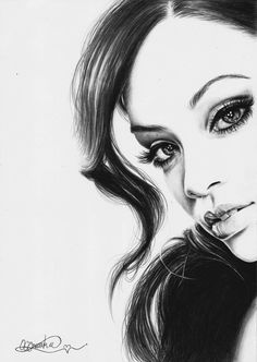 ORIGINAL Pencil Drawing of Rihanna, because you love her!