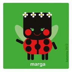 Marga, little ladybug