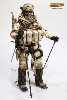 onesixthscalepictures: Very Hot ARCTIC SOLDIER (Tan / Olive Drab) : Latest product news for 1/6 scale figures (12 inch collectibles) from Sideshows Collectibles, Hot Toys, Medicom, TTL, Triad Toys, Enterbay and others.