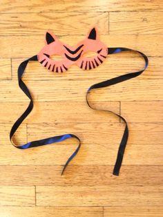 DIY Tiger Mask