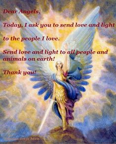 Dear Angels/Lieve Engelen...