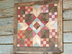 wooden barn quilt salvaged wood barn quilt by IlluminativeHarvest, $175.00