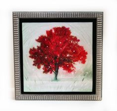 A personal favorite from my Etsy shop https://www.etsy.com/listing/484615011/winter-greets-autumn-framed-10x10-inches