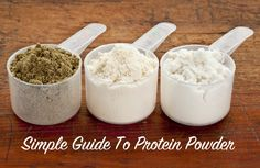 A Simple Guide To Paleo Friendly Protein Powders by Eat Drink Paleo. #paleo