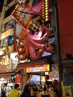 Wow, I am in Food Heaven! Unbelievable, What an atmosphere! #foodheaven #osaka #dotonbori