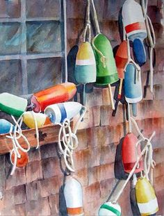 Lobster Buoys - Madeline Wikler