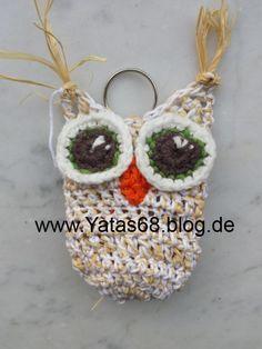 Vögel - Futtereule Papageienspielzeug SPENDE - ein Designerstück von YatasBayu bei DaWanda