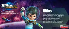 Miles From Tomorrowland - Miles Hero