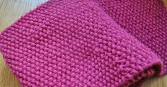 all this for them: The Pink Baron Scarf ~ Knitting Pattern