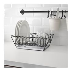 FINTORP Dish drainer  - IKEA. THB 429. Article Number: 602.131.74. Size 37.5x29x13.5 cm.