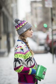 Snow Play: second look of NYFW | The Blonde Salad