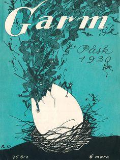 Rudolf Koivu: Garm-lehden kansi, 1930 Cover Art, Cool Designs, Magazine Covers, Movie Posters, Europe, Vintage, Nice, Film Poster, Popcorn Posters