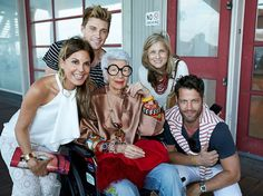 Iris Apfel, Nate Berkus, Jeremiah Brent and friends. Fashion Jewelry: The Collection of Barbara Berger, Museum of Arts and Design - NYC.