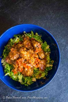 Get this Keto Creamy Meatballs Recipe with Fried Cabbage [Paleo, AIP] here. Includes beautiful photos and printable step-by-step instructions.