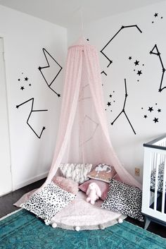 DIY Nursery Canopy,