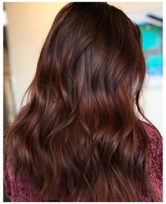 brownish red hair