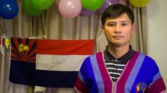 """""""I lived in [the] jungle, no house, no warmth. Not enough rice, not enough water, not enough food, not enough clothes, not enough anything. My generation, my grandma, grandpa and my parents and me, we lived running all the time.""""  Gayhtoo Paw, from Myanmar (Burma), now lives in Albany, WA"""
