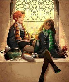 Young Newt & Leta