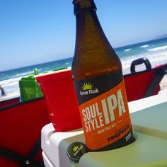 """""""Red cuppin' it at the beach real good.....don't want to get caught sippin' and slippin'! Hahahaha #greenflash #soulstyleipa #craftbeernotcrapbeer #beersnob #hophead #beernerd #beergeek #sdbeer #drinklocal #sdlocal #craftbeer #goodtimes #southcalinative #chulavistafinest #familylove #familytime #beachday"""" via liberated_brews on Instagram"""