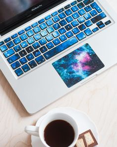 Beautiful Nebula Inspired Keyboard Decals Polish design studio Keyshorts creates amazingly beautiful and high quality decal keyboard tickets, laptop trackpad decals and skins for your phone, laptop...