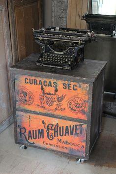 attic - Typographic Drawers -