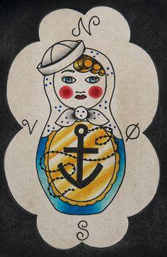 matryoshka + nautical