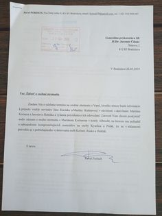 Exkluzívne: Dokument pre generálnu prokuratúru o organizátoroch, objednávateľoch a cieľoch vraždy novinára Kuciaka Internet Radio, Bratislava, Martini, Personalized Items, Martinis