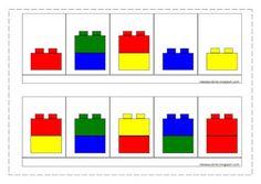 Modèles légos duplos Lego Duplo, Lego Math, Montessori Activities, Kindergarten Activities, Book Activities, Lego For Kids, Puzzles For Kids, Modele Lego, Basic Coding
