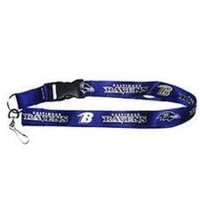 NFL Baltimore Ravens Purple Lanyard with Detachable Keychain by aminco. $2.99