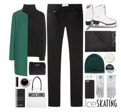 15 / Ice Skating Style by dddawn on Polyvore featuring polyvore fashion style Jardin des Orangers Dolce&Gabbana Acne Studios Moschino Hermès Case-Mate Chanel H2O+ women's clothing women's fashion women female woman misses juniors