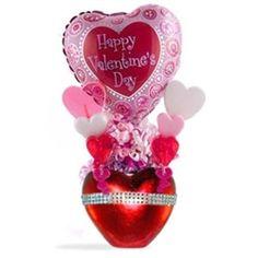 Valentine's Day Candy Bouquet Valentine Lollipop