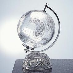 #choiceisyours #inspiration #hisstyle Waterford Crystal globe <3.His