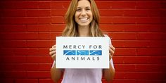Mercy For Animals - animal rights organization promoting a vegetarian diet