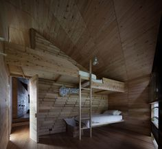 Shearers Quarters House / John Wardle Architects #bunkbeds