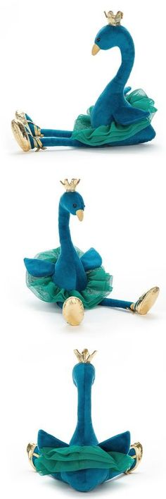 Jellycat peacock soft toy
