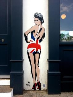 Today in things you thought you'd never see: Queen Elizabeth as a pinup girl