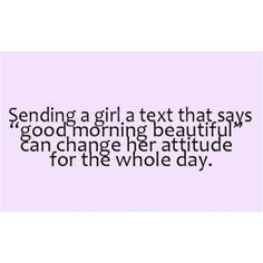 Except when your husband is texting it to another women!