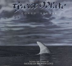 "For Sale - Great White Congo Square UK  CD single (CD5 / 5"") - See this and 250,000 other rare & vintage vinyl records, singles, LPs & CDs at http://eil.com"