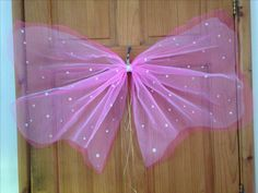 Home made fairy wings.
