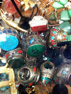 antique native american rings
