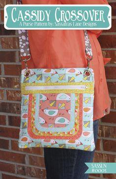 Cassidy Crossover Purse Pattern – Sassafras Lane Designs