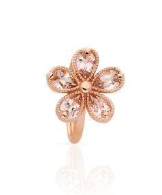 Love Me Daisy Rings by Jenna Clifford. This playful collection is mastercrafted in white, yellow and rose gold and set with morganites. Jenna Clifford, Daisy Ring, Morganite Ring, Pink Stone, Diamond Jewelry, Fine Jewelry, Jewelry Box, Jewelry Design, Bling