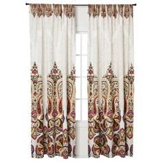 Mudhut™ Samovar Curtain Panel - Cream (55x84