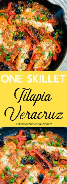 One Skillet Tilapia Caponata is not only packed with nourishing vegetables but it's also bursting with flavor and very delicious.